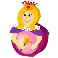 """Laternen-Bastelset """"Prinzessin"""" rund 21"""