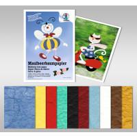 Maulbeerbaumpapier 80 g/qm 25 x 38 cm - 5 Blatt