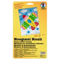 """Moosgummi Mosaik """"Flugzeug"""""""