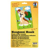 """Moosgummi Mosaik """"Hund"""""""