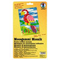 "Moosgummi Mosaik ""Papagei"""