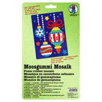 "Moosgummi Mosaik ""Weihnachtskugel"""