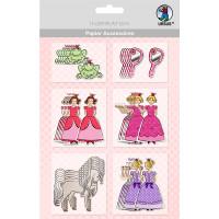 "Papier Accessoires ""Prinzessinnen"""