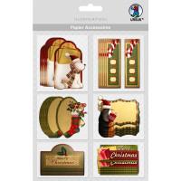 """Papier Accessoires """"Schilder zu Weihnachten"""""""