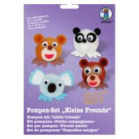 """Pompon-Set """"Kleine Freunde"""" Zootiere"""
