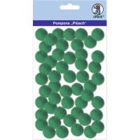 "Pompons ""Plüsch"" 20 mm dunkelgrün"