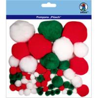 """Pompons """"Plüsch"""" Mix 9"""
