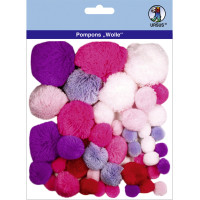 "Pompons ""Wolle"" Mix 3"
