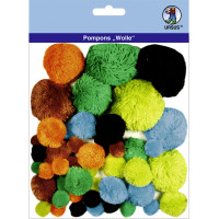 "Pompons ""Wolle"" Mix 6"