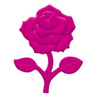 "Prägestanzer ""groß"" Rose"
