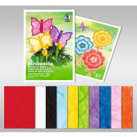 Strohseide 25 g/qm 23 x 33 cm - 5 Blatt