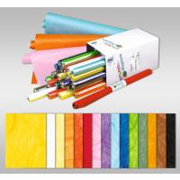 Strohseide 25 g/qm 50 x 70 cm - 25 Bogen in 15 Farben