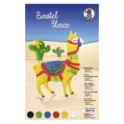 Bastelfleece / Kuschelvlies 150 g/qm 21 x 32 cm - 6 Blatt sortiert