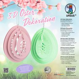 Bastelset 3D Oster-Dekoration