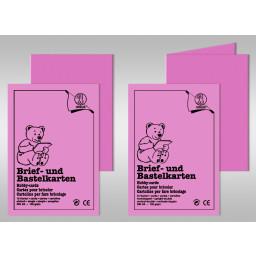 Brief- und Bastelkarten DIN A6 - 10 Karten