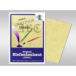 Briefblocks DIN A4 Elefantenhaut 110 g/qm - 25 Blatt