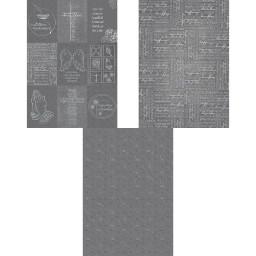 Designkarton Kondolenz, 200 g/qm, DIN A4, 5 Blatt
