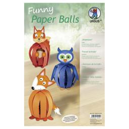 Funny Paper Balls