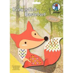Kreuzstich-Bastelset Fuchs