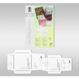 Kuvert-Schablonen Set