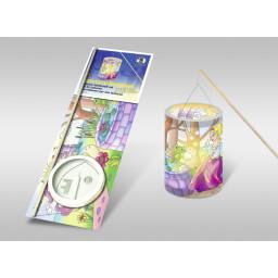 Laternen-Bastelset 21 mit Transparentpapier
