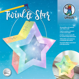Laternen-Bastelset Twinkle Star, Feenstaub
