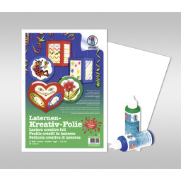 Laternen-Kreativ-Folie 33 x 46 cm - 5 Blatt
