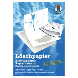 Löschpapierblock 135 g/qm DIN A4 - 10 Blatt