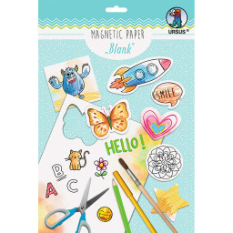 """Magnetic Paper """"Blanko"""" DIN A4, 2 Blatt"""