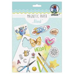 """Magnetic Paper """"Blanko"""" DIN A5, 2 Blatt"""