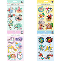 Magnetic Paper Patches