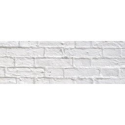 Motiv-Fotokarton 49,5 x 68 cm Backstein weiß