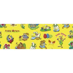 Oster-Transparentpapier 30,5 x 50 cm - 10 Blatt