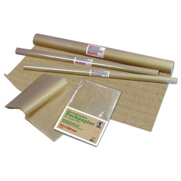 Packpapier gerippt 80 g/qm 1,0 x 10,0 m - 1 Rolle