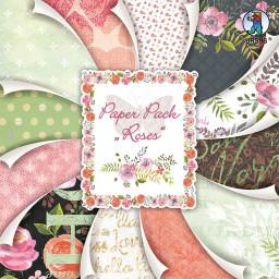 Paper Pack Roses 30,5 x 30,5 cm