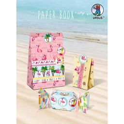 Papier-Block Flamingo-Design