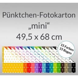 Pünktchen-Fotokarton