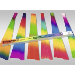 Regenbogen-Flechtstreifen 130 g/qm