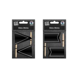Tafelfolien Deko-Sticks Blackboard