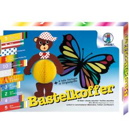 URSUS® Bastelkoffer sortiert in Materialen, Farben und Mustern