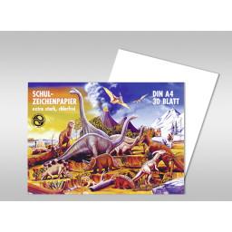 Zeichenblock 120 g/qm DIN A4 - 30 Blatt