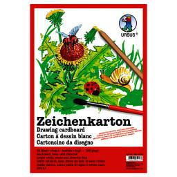 Zeichenkarton 200 g/qm DIN A4 - 250 Blatt