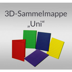 """3D-Sammelmappe """"Uni"""" DIN A3"""