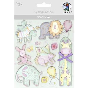 "3D-Sticker ""Baby"" Motiv 122"