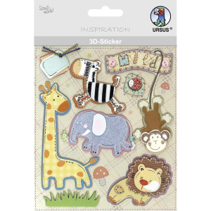 "3D-Sticker ""Baby"" Motiv 123"