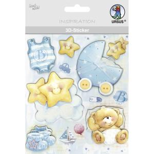 "3D-Sticker ""Baby"" Motiv 125"