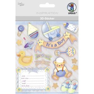 "3D-Sticker ""Baby"" Motiv 127"