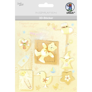 "3D-Sticker ""Baby"" Motiv 57"