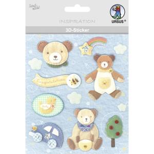 "3D-Sticker ""Baby"" Motiv 62"