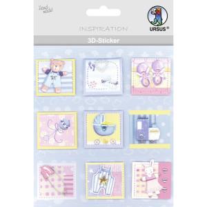 "3D-Sticker ""Baby"" Motiv 95"